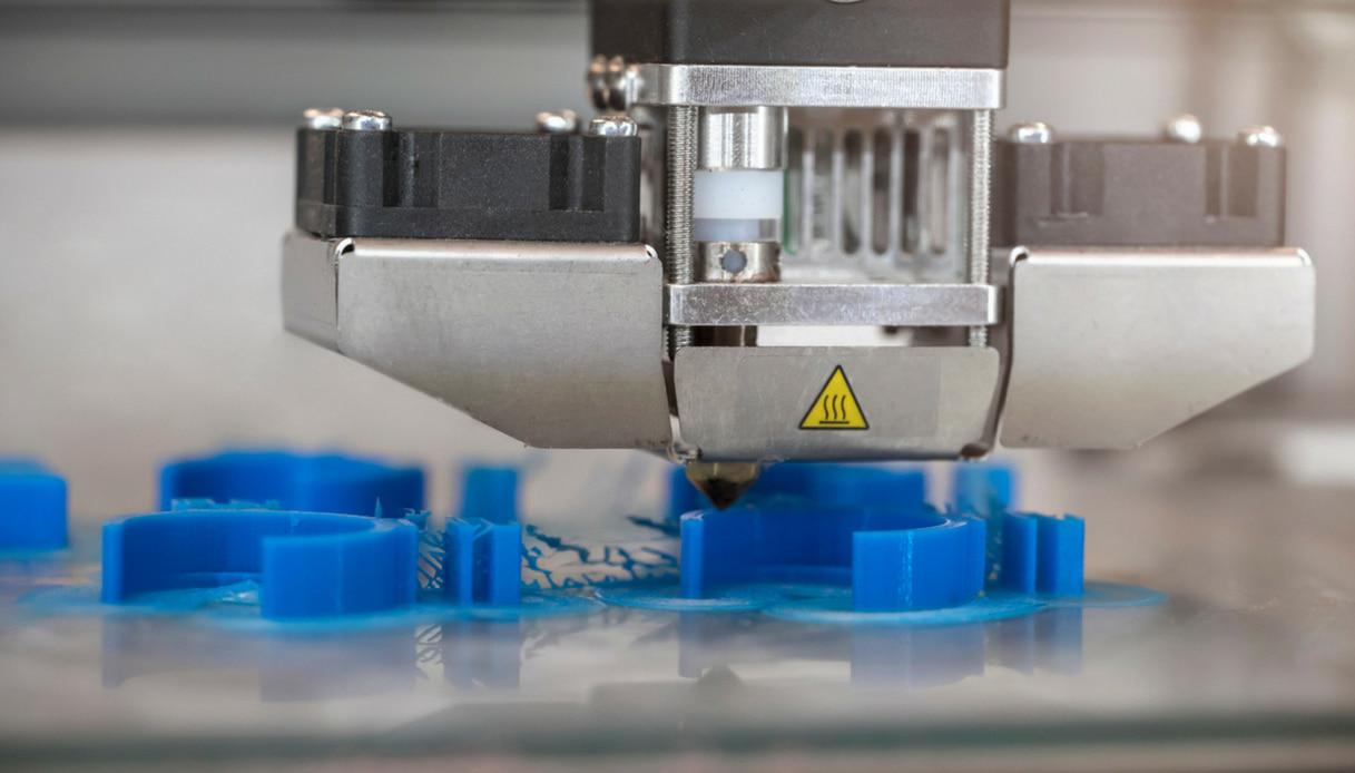 Lavorazione stampante 3D