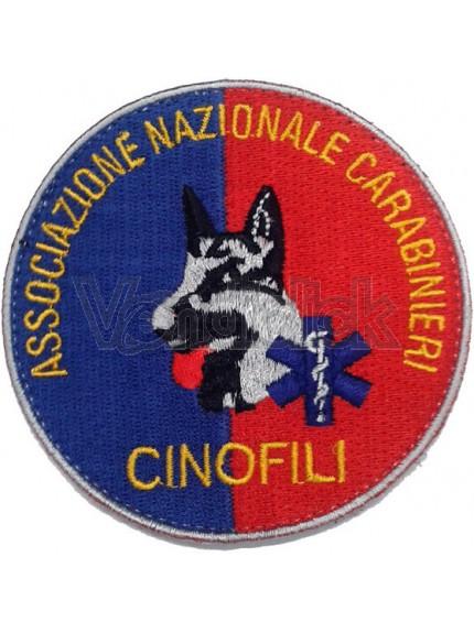 Ricamo Patch Logo Associazione Nazionale Carabinieri Cinofili