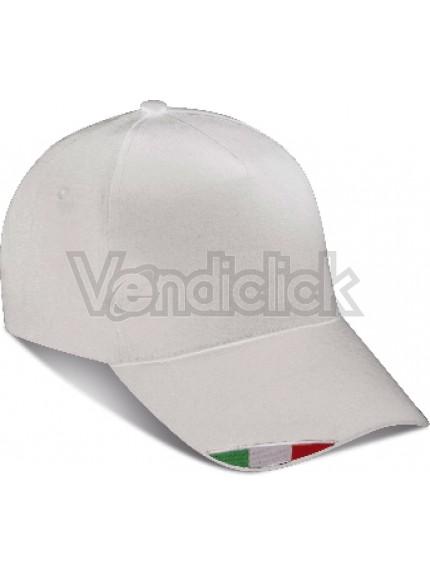 CAPPELLINO 5 PANNELLI CON BANDIERA ITALIANA