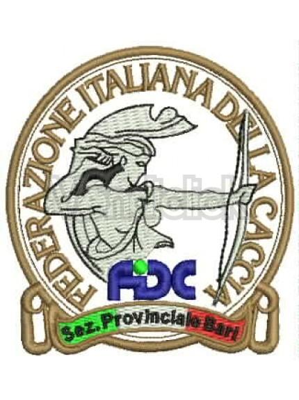 Ricamo Patch Logo Federcaccia