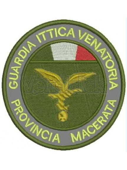 Ricamo Patch Logo Associazioni di Vigilamza Ambientale