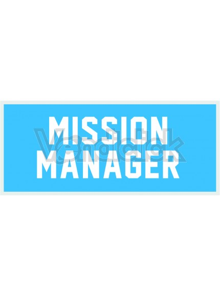 Patch Ricamo Mission Manager RDN