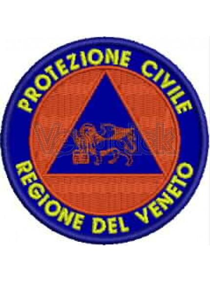 Ricamo Patch Logo Potezione Civile VENETO