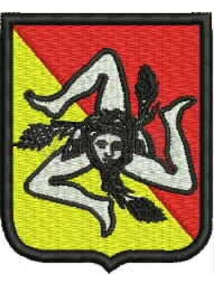 Ricamo Patch Logo Protezione Civile Sicilia