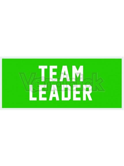 Patch Ricamo Team Leader RDN