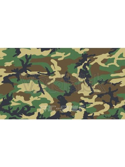 Patch Ricamo Nominativo Militare con logo