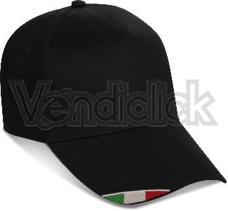 Cappellino-baseball-nero
