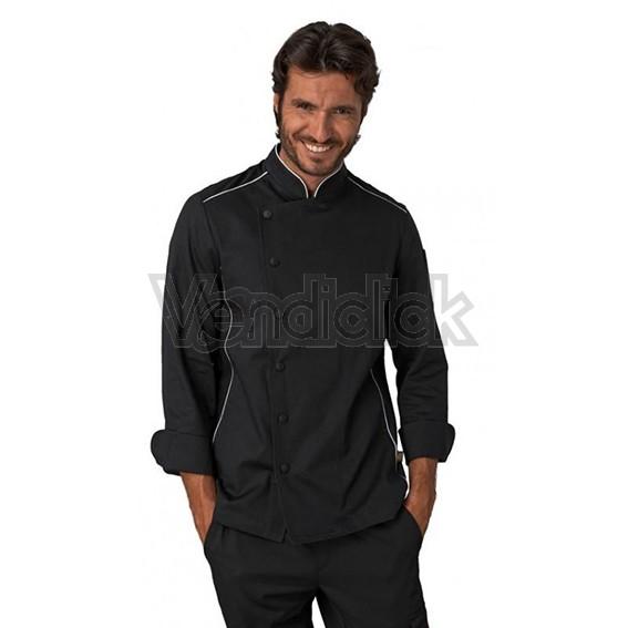 giacca cuoco alex nera