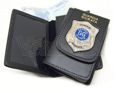 Portafoglio Vega cuoio guardie giurate 1