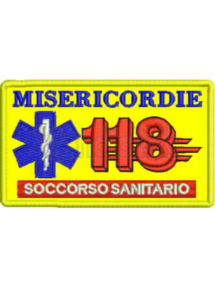 Ricamo Patch Logo 118 Msericordie