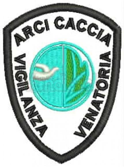 Ricamo Patch Logo Arcicaccia Vigilanza Venatoria
