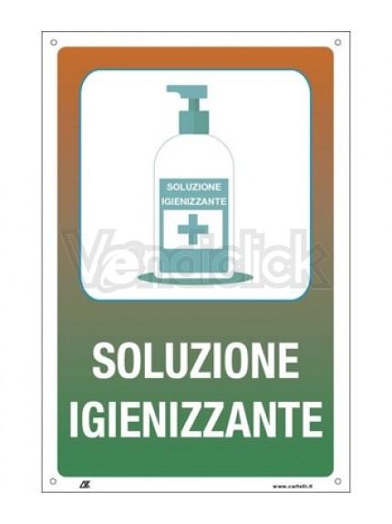 soluzione igienizzante