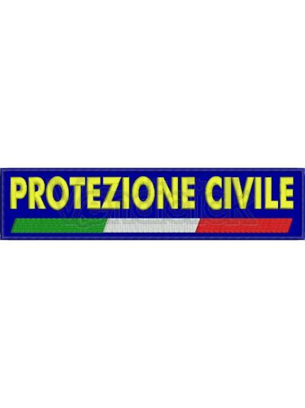Patch Ricamo Spallone Protezione Civile