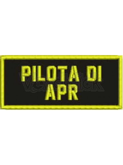Patch Ricamo apr rdn