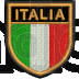 Patch Ricamo scudetto Italia RDN