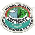 Ricamo Patch Logo Arcicaccia Provinciale