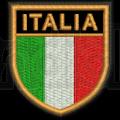 Patch Ricamo scudetto Italia RDN